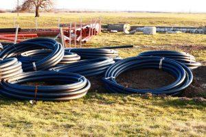 Lucrări la rețeaua de apă în Moșnița Nouă și Moșnița Veche