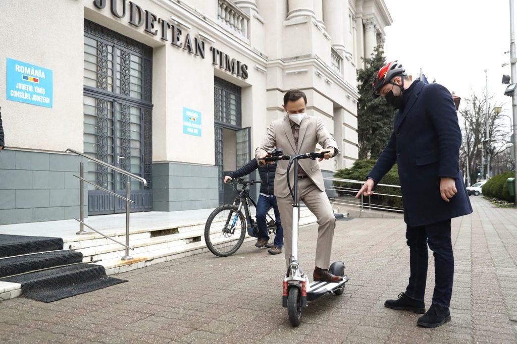 """Șeful CJ Timiș s-a alăturat inițiativei """"Vinerea Verde"""""""
