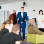 Dominic Fritz, în vizită la noile centre de vaccinare deschise în Timișoara