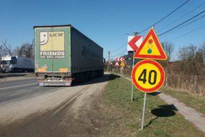 Restricții de trafic la Coșteiu