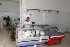S-au finalizat lucrările la intalațiile electrice la hala de lactate din Piața Doina