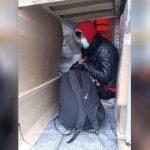 Ascunși într-un automarfar, cinci cetățeni străini au încercat să treacă ilegal frontiera