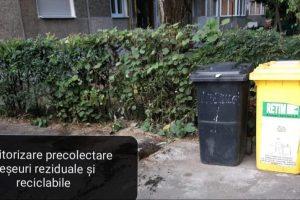 """Romeo Ursu, director ADID Timiș: """"Verificăm conținutul recipientelor, în vederea identificării comportamentului cetățenilor în gestionarea deșeurilor reciclabile și reziduale"""""""