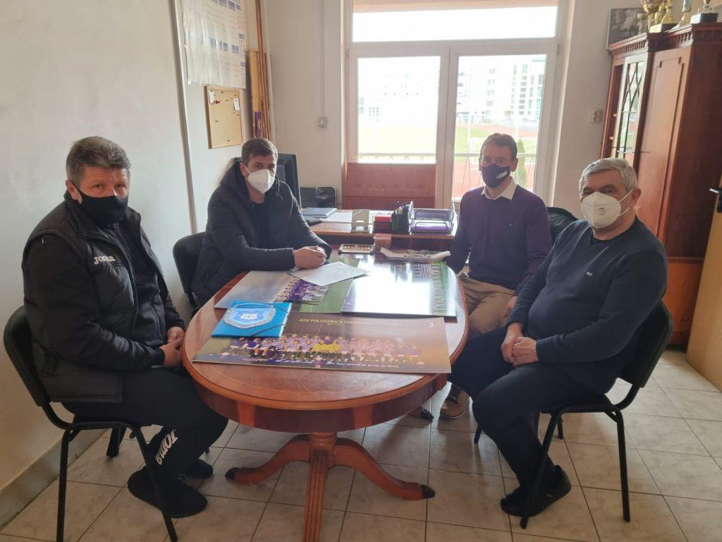 Politehnica Timișoara parteneriat cu Clubul Sportiv Timişul Şag
