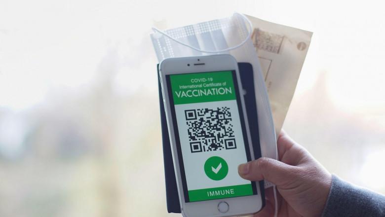 """Comisia Europeană a prezentat """"adeverința electronică verde"""", documentul care va facilita libera circulație în UE"""