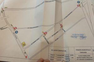 Circulație rutieră cu restricții pe strada Grigore Alexandrescu