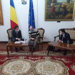 Ce a discutat Alexandru Proteasa cu oficiali din Capitală