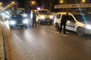 Peste 100 de șoferi sancționați pentru nerespectarea interdicțiilor privind deplasarea în carantină