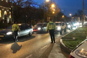 Razie pe drumurile din Timiș. Sute de șoferi trași pe dreapta