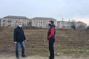 Noi demersuri pentru viitoarea bază sportivă de pe strada Costică Rădulescu
