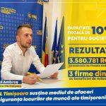 """Consilierul local Raul Ambruș: """"PNL Timișoara susține prin fapte și măsuri concrete mediul de afaceri și siguranța locurilor de muncă ale timișorenilor"""""""