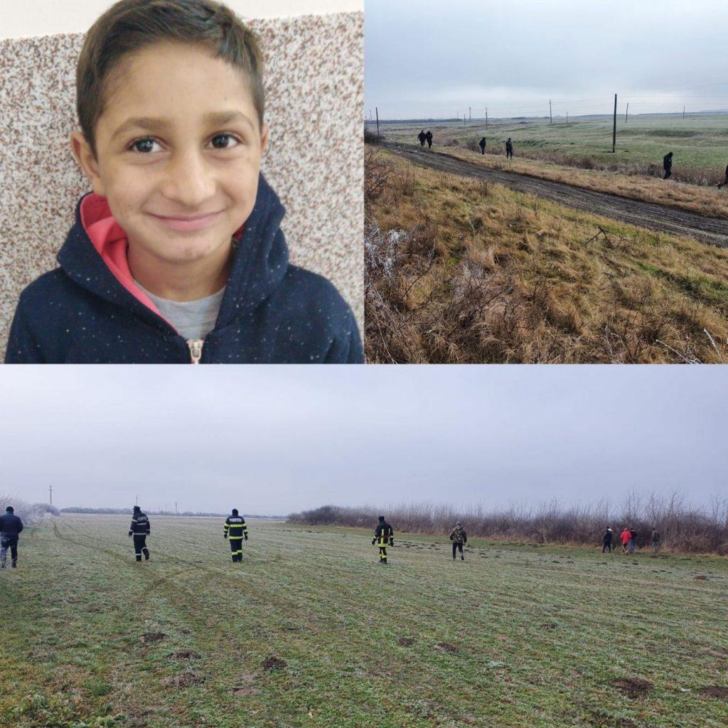 Cadavrul unui copil, găsit pe un câmp între localitățile Mișca și Vânători