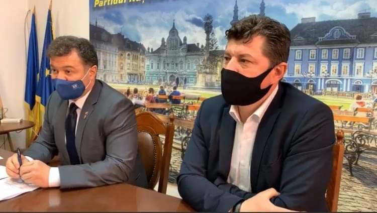 """Deputatul Marilen Pirtea: """"Apelul meu este de a se crea în Timișoara o linie specială și de a se încuraja, pe aceste doze rămase, vaccinarea studenților"""""""
