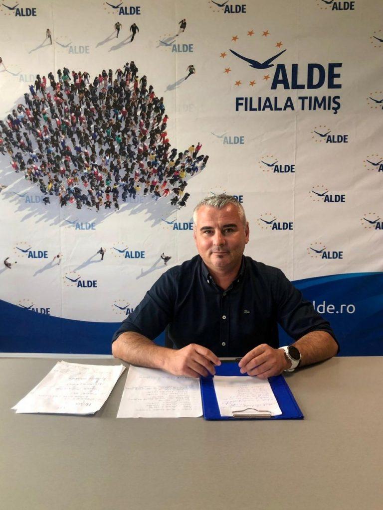 """Marian Coandă, președintele ALDE Timiș: """"Noua echipă este formată din oameni tineri, cu perspectiva de viitor"""""""