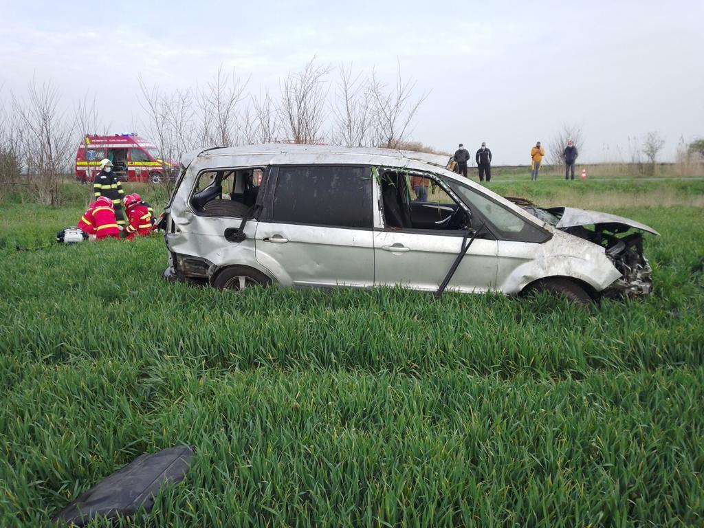 Șofer decedat în urma unui accident rutier în apropiere de Comloșu Mare