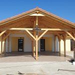 Stadiul lucrărilor la noua capelă din comuna Șandra