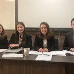 Echipa Facultății de Drept din cadrul UVT s-a calificat în etapa finală a unui concurs european