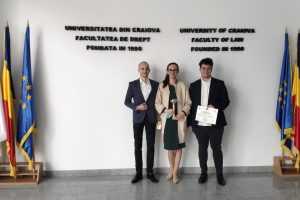 Echipa Facultății de Drept a UVT a ocupat locul al treilea la Hexagonul Facultăților de Drept