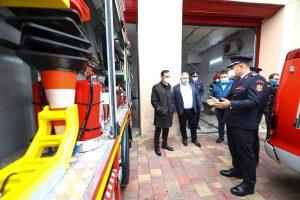 Stația de pompieri Sânnicolau Mare a fost dotată cu echipamente noi de intervenție, de ultimă generație