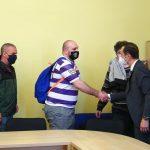 Suporteri de la Peluza Sud și Druckeria, în vizită la liderul CJT. Ce au discutat