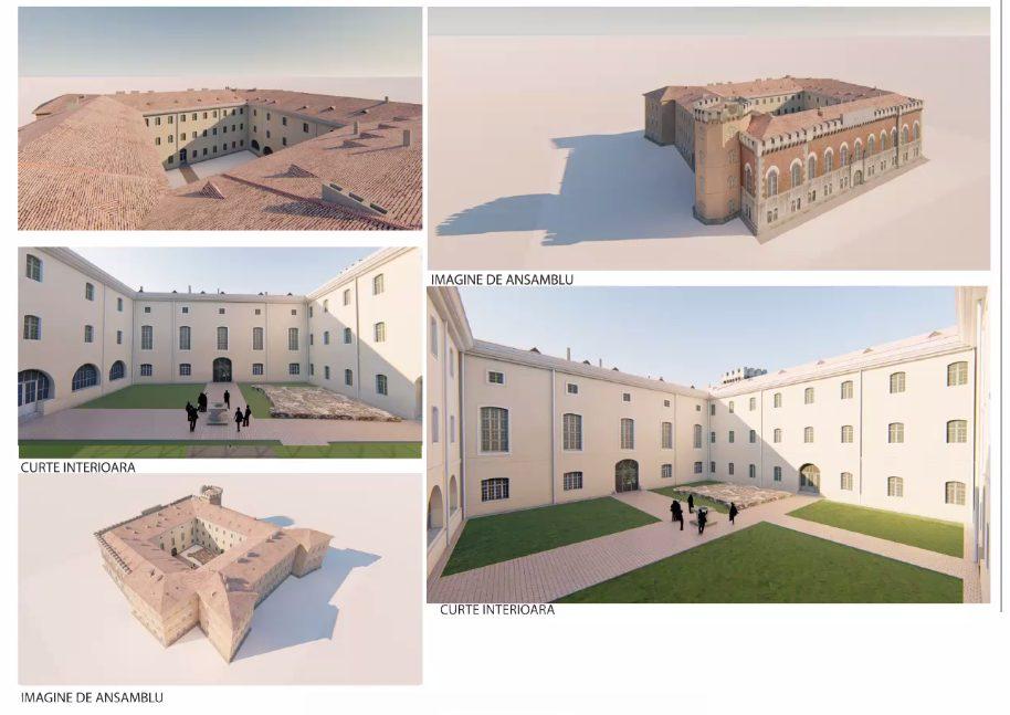 O aripă a Castelului Huniadear putea fi deschisă pentru evenimente în anul 2023