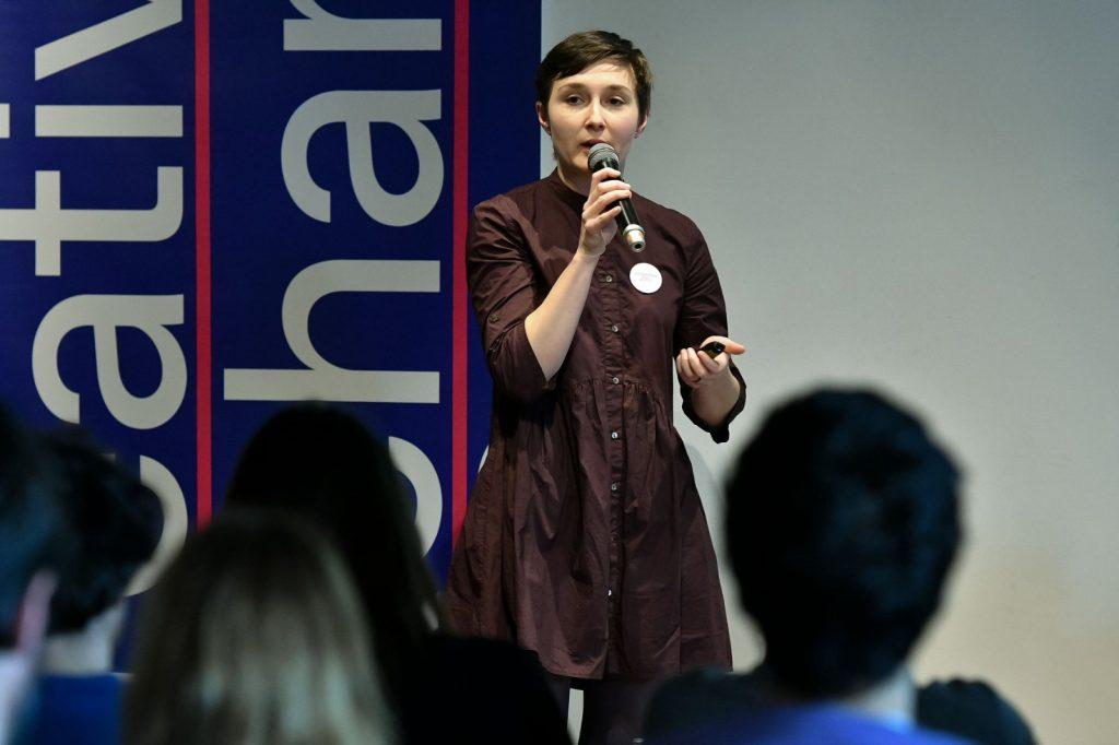 Alexandra Rigler, director al Centrului de Proiecte al Municipiului Timișoara