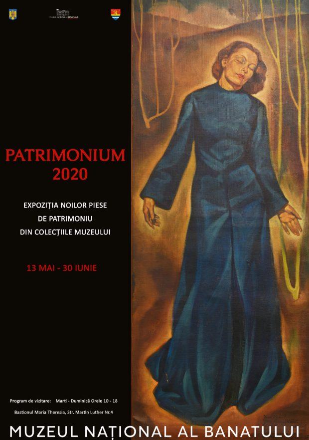 """""""PATRIMONIUM 2020"""", expoziție cu cele mai noi piese ale Muzeului Banatului"""