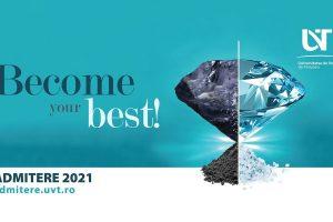 """Admiterea online la Universitatea de Vest din Timișoara: Become Your Best! – la """"Vest"""""""