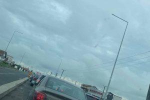 Trafic restricționat spre Moșnița Nouă