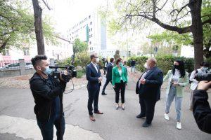 """Ministrul Sănătății la Louis Țurcanu: """"Mă bucur să văd aici cum se ridică un spital modern"""""""