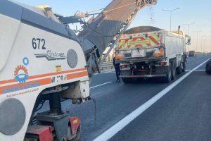 Trafic restricționat pe autostrada A1. Unde lucrează drumarii