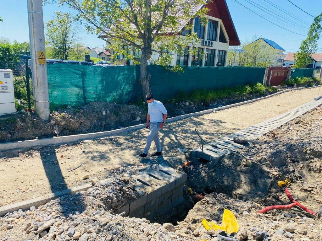 Vicele CJT, Cristian Moș, în inspecție pe două drumuri importante de lângă Timișoara