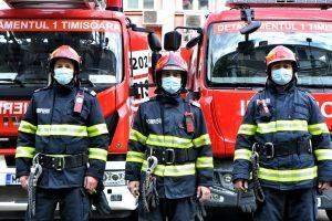 Mesaj emoționant al pompierilor timișeni după ce un băiat de 8 ani a fost lovit de autobuz în apropiere de Timișoara