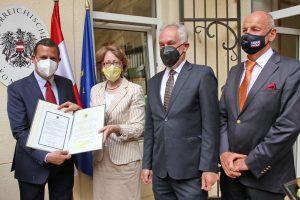 Consulatul Onorific al Austriei la Timișoara și-a inaugurat oficial sediul