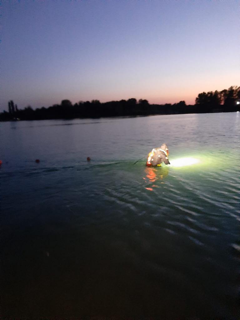 Tânăr înecat în lacul Ghioroc