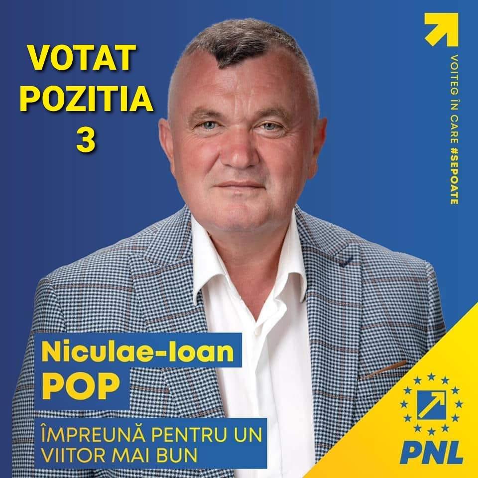 """Niculae Pop, candidatul PNL la funcția de primar al comunei Voiteg: """"Voiteg are nevoie la nivel de conducere de un om cu experiență, devotat și implicat în comunitate și care poate duce comuna noastră la un nivel european"""" (P)"""