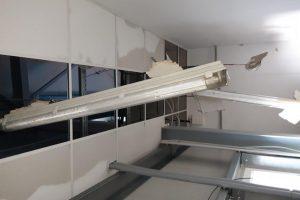 Staţia de tratare a apei din Sânnicolau Mare, afectată în urma furtunii de noaptea trecută