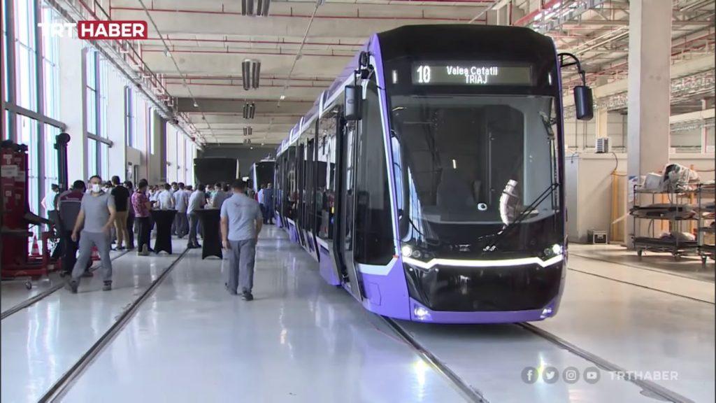 Primul tramvai nou ajunge în această noapte în Timișoara