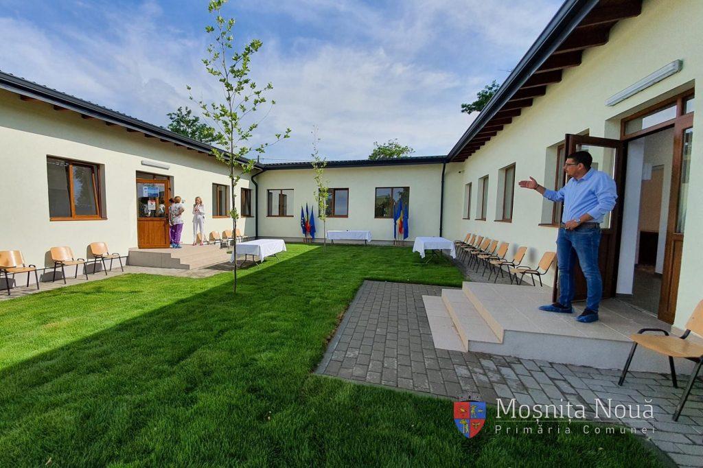 Creșă inaugurată la Moșnița Nouă