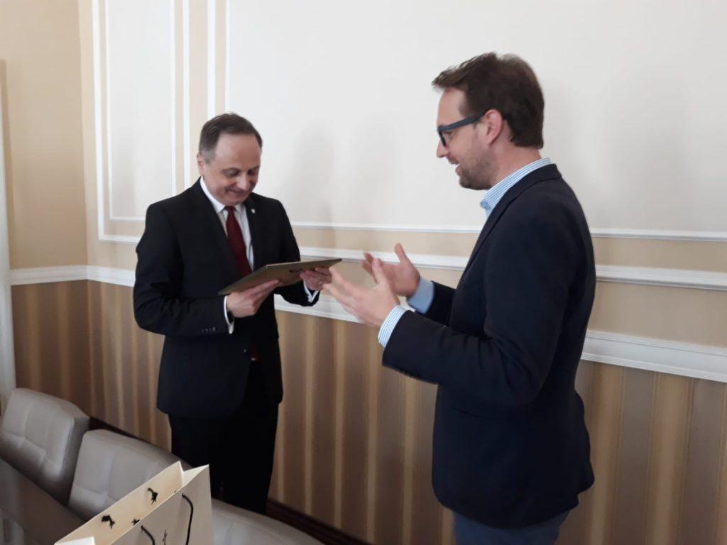 Vicepreședintele Parlamentului ungar, Koloman Brenner, în vizită la Timișoara