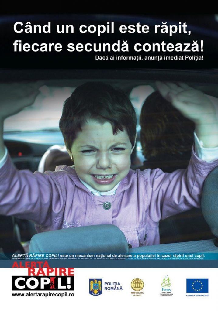"""Facebook sprijină Poliția Română cu mediatizarea cazurilor, în cadrul Mecanismului """"Alertă Răpire Copil"""""""