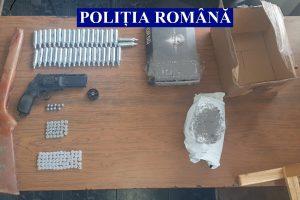 Descinderi în Timiș! Arme confiscate de polițiști