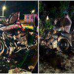 Accident cu cinci victime la ieșirea din Sântana spre Curtici