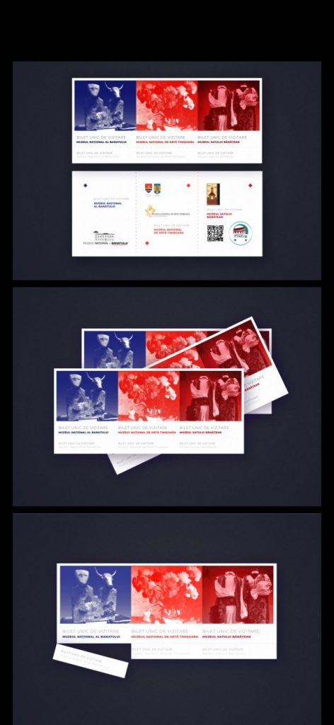 A fost ales designul biletului unic pentru cele trei muzee din Timișoara aflate în subordinea CJT