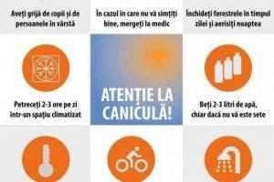 Miercuri va fi Cod portocaliu de caniculă în județul Timiș