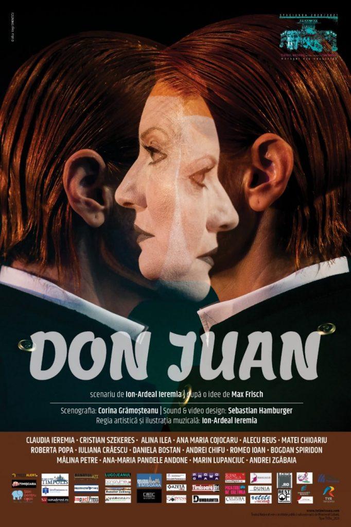 O nouă premieră la Teatrul Național: Don Juan, pe un scenariu de Ion-Ardeal Ieremia