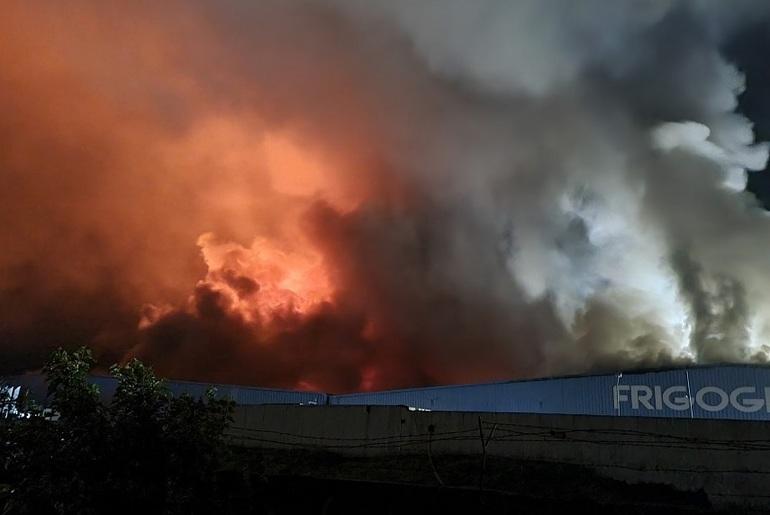 S-a aflat cauza incendiului de la Frigoglass