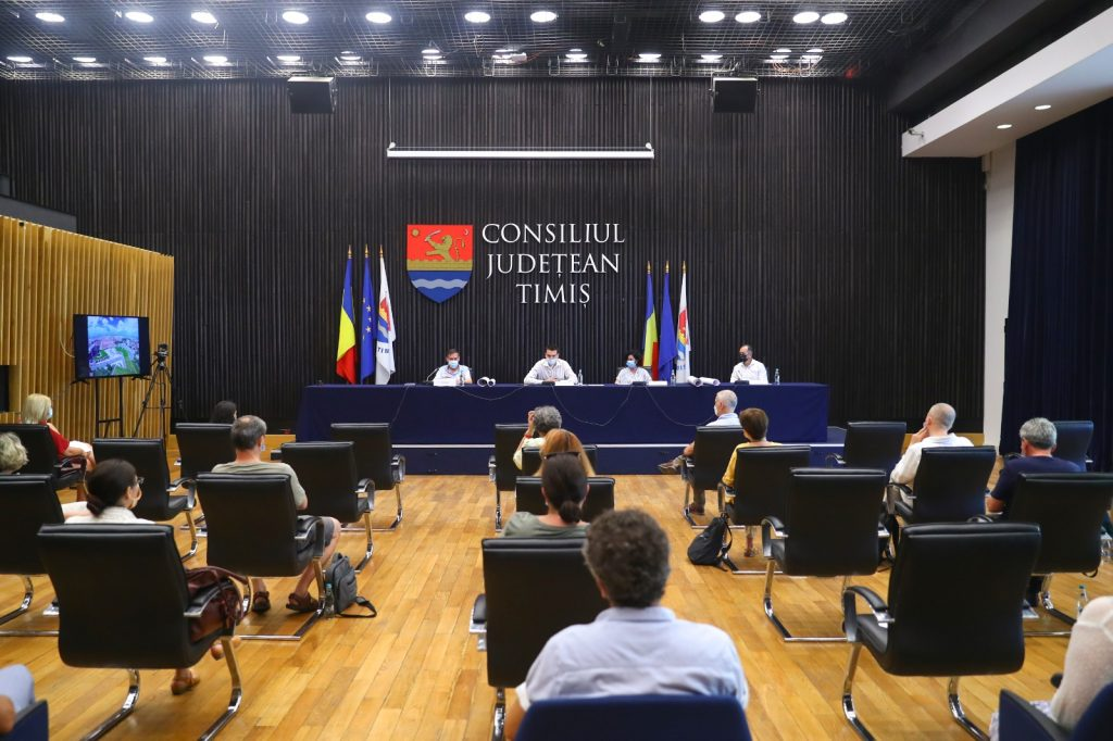 Întâlnire de lucru la CJT pe tema strategiei Bastionului Theresia. Ce se va întâmpla cu fostul club Zambara