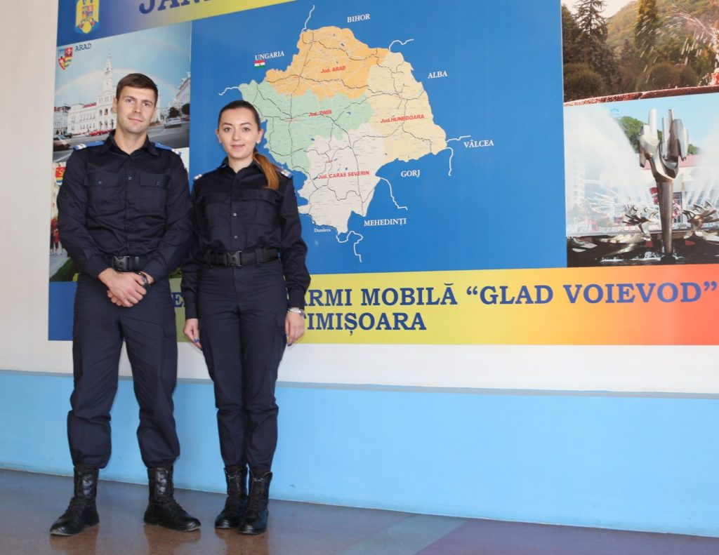 """Gruparea de Jandarmi Mobilă """"Glad Voievod"""" Timişoara recrutează candidaţi pentru participarea la concursul de admitere"""