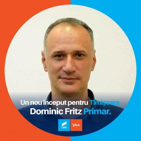 Sorin Șipoș este noul președinte al USRPLUS Timișoara